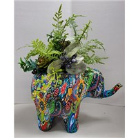 8_in_Colorful_Elephant_(Assorted_Colors)_with_Silks_-_69.99